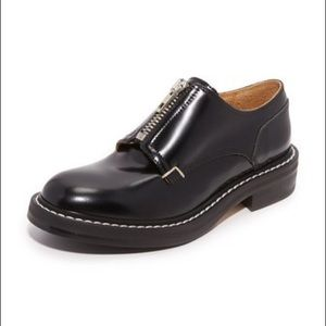 Rag & Bone Saxon Zip Front Oxford Loafer